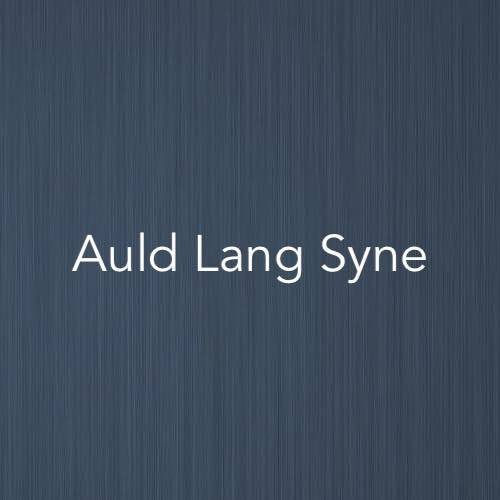 Cover image for solo piano sheet music for Auld Lang Syne