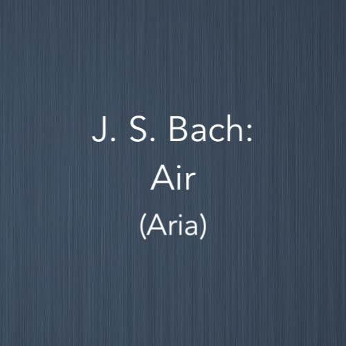 Cover image for Air by J.S.Bach for two pianos