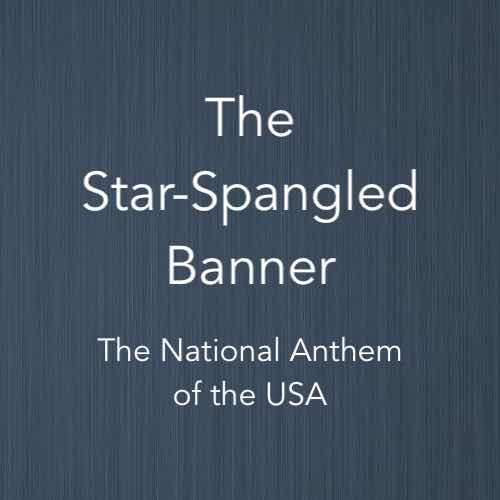 Cover image for solo piano sheet music of the Star-Spangled Banner – the national anthem of USA