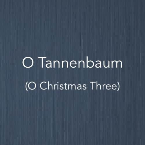 Cover image for O Tannembaum easy piano version