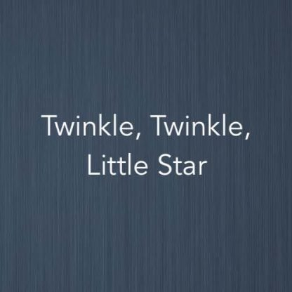 Cover image for Twinkle, Twinkle, Little Star (easy piano version)
