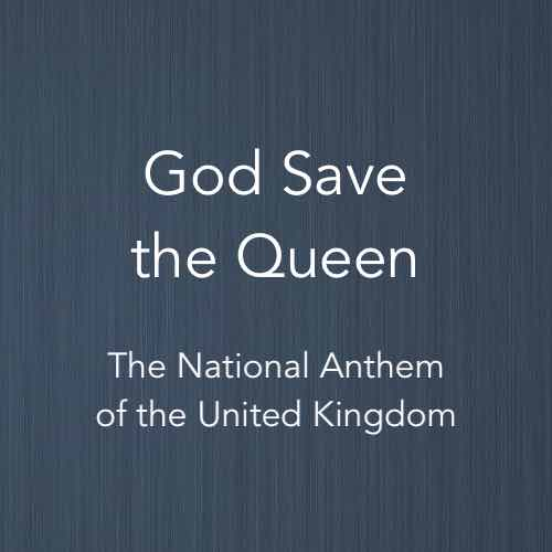 Cover image for solo piano sheet music of God Save the Queen (the national anthem of the UK)
