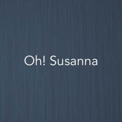 Cover image for Oh! Susanna - easy piano version