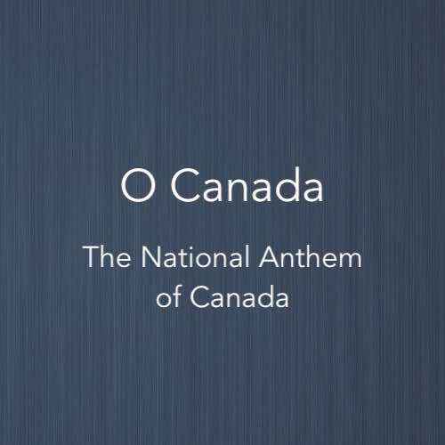 Cover image of piano score for Jana Gana Mana, the National Anthem of Canada